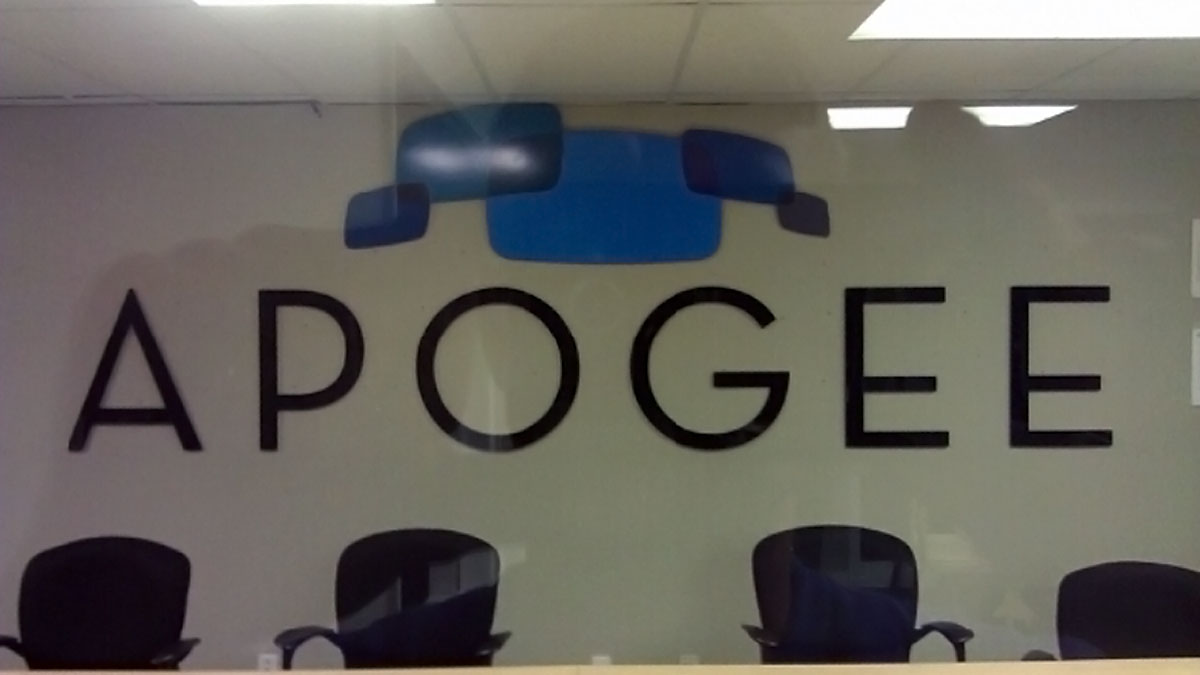 Apogee Sign Built And Installed By Texas Custom Signs