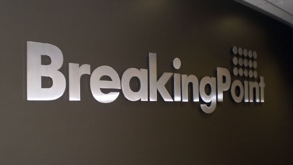 BreakingPoint Sign Built And Installed By Texas Custom Signs