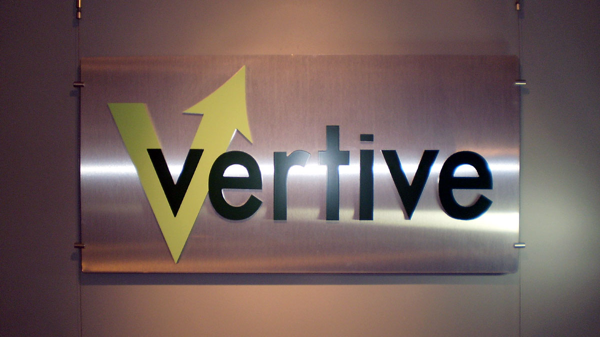 Vertive Sign Built And Installed By Texas Custom Signs