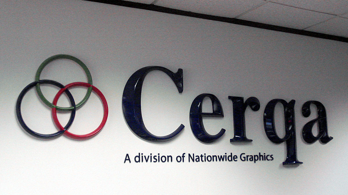 Officelobbysigns 3d Cerqa