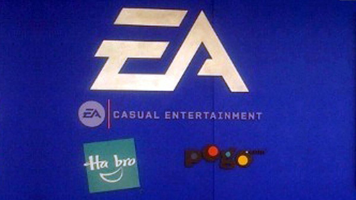 3D Letter Sign For EA