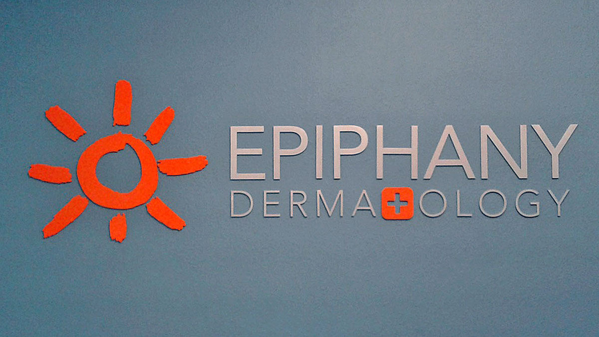 3D Letter Sign For Epiphany Dermatology