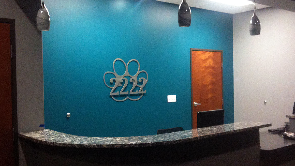 Officelobbysigns 3d Metallobby