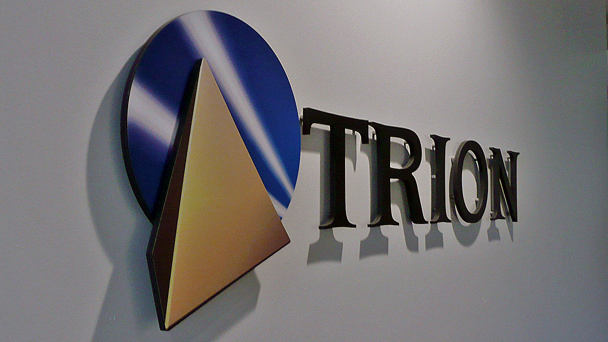 3D Letter Sign for Trion