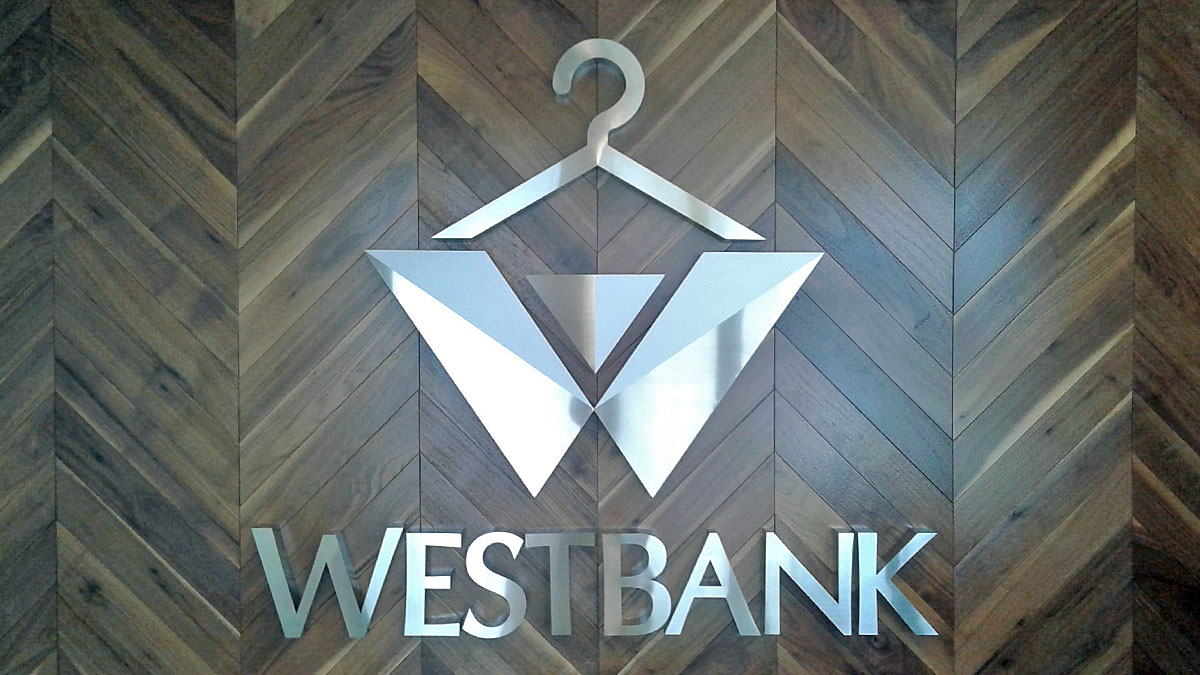 Westbank 3D Sign