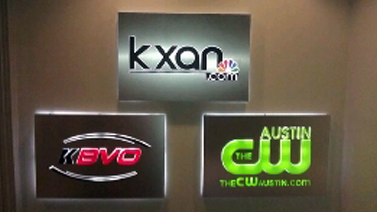 TV Network Signs