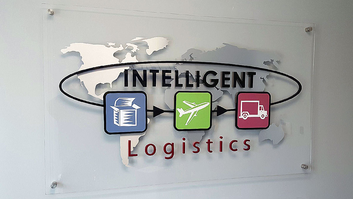 Panel Sign For Intelligent Logistics
