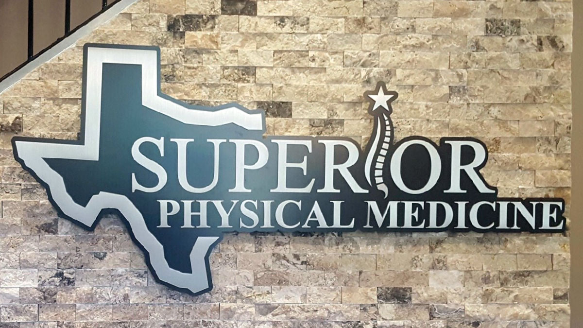 Superior Physical Medicine Panel Sign