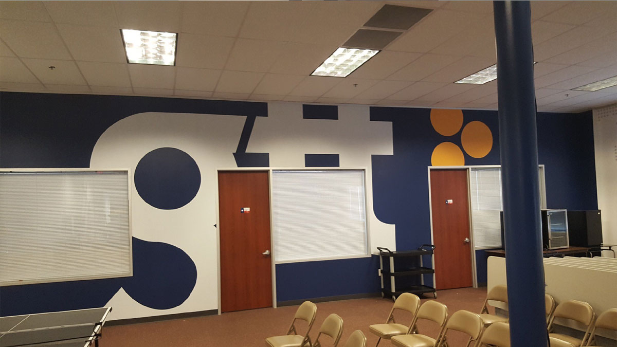 GTT Communications Conference Room Wall Graphics
