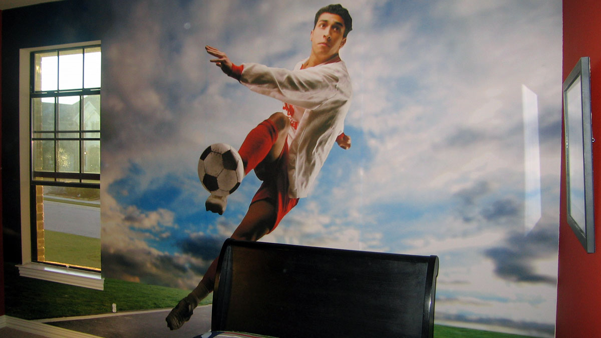Officelobbysigns Wall Soccer