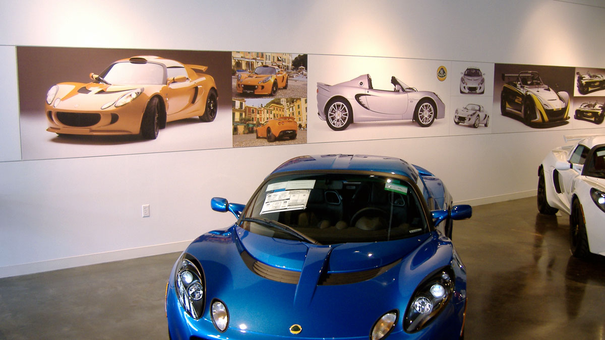 Officelobbysigns Wall Sportscars